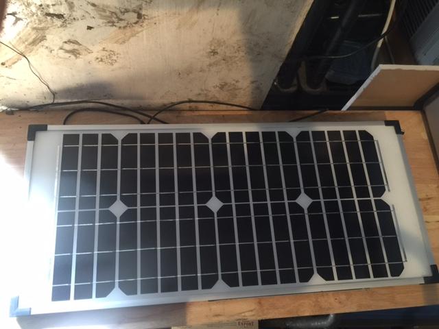 VENDU - Panneau solaire 40w Coleman à vendre Img_2910