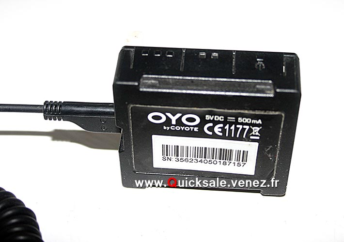 |VENDU] Avertisseur Coyote de radars fixe et mobile, portée 1 Km.- 38€ Img_6513
