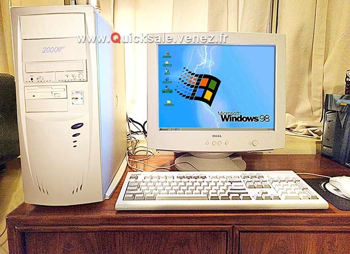 [VDS] Tour ordinateur avec Windows 98Se - 75€ Window10