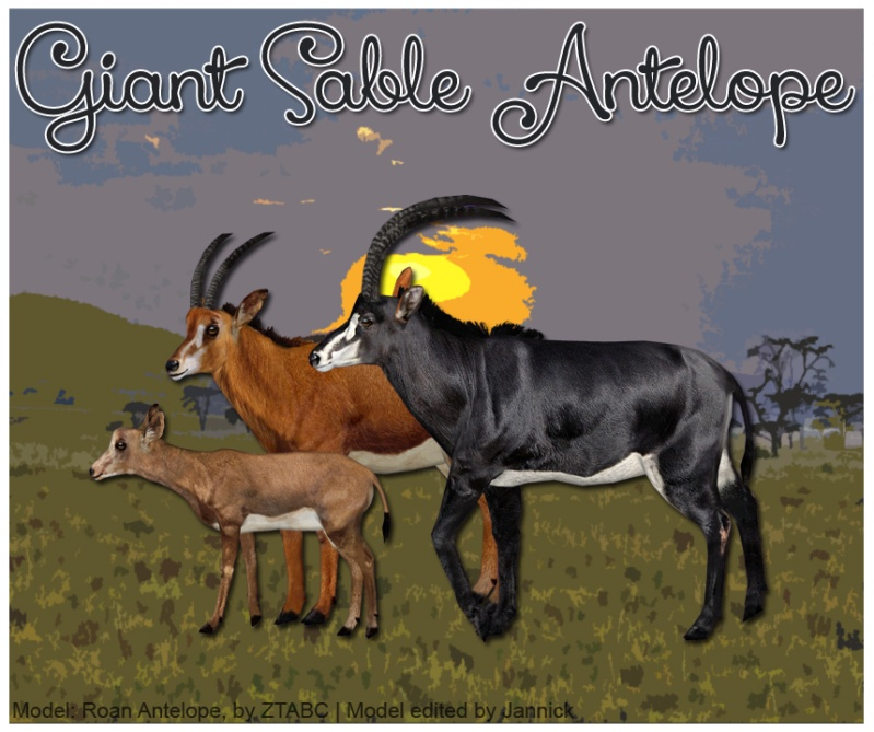 Topics tagged under antelope on User - Made Creations Giant_10