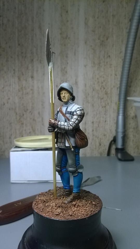 homme d'arme breton fin XVeme 11140010