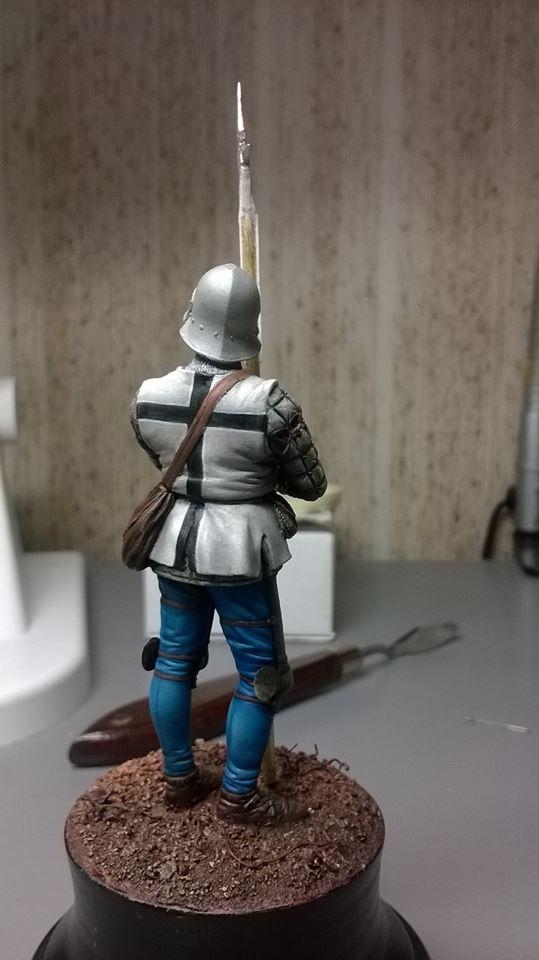 homme d'arme breton fin XVeme 14833310