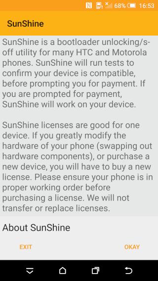 [TUTO] HTC 10 - LE S-OFF , LE S-OFF ... Sunshi12