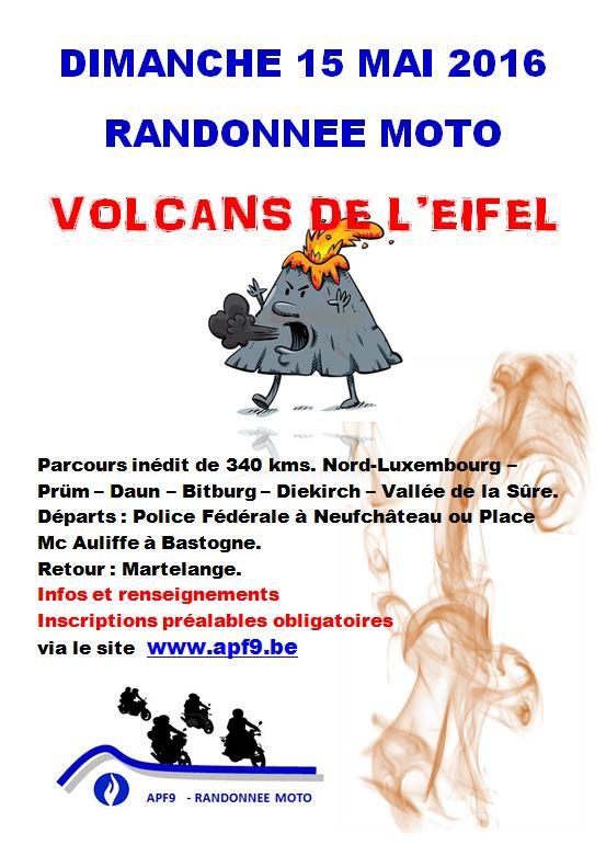BALADE - Randonnée Moto APF9 - Volcans de DAUN - Invitation. Affich10