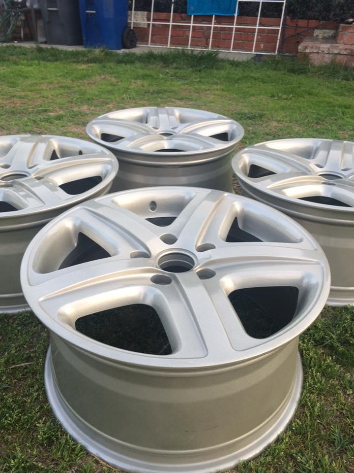 OEM Touareg wheels 19x9 12027610