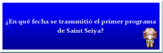 seiya - ¿De que se trata?/What is it about? Primer10