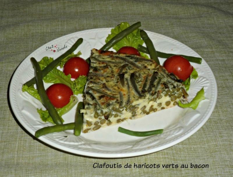 Clafoutis de haricots verts au bacon  Ob_f5f10