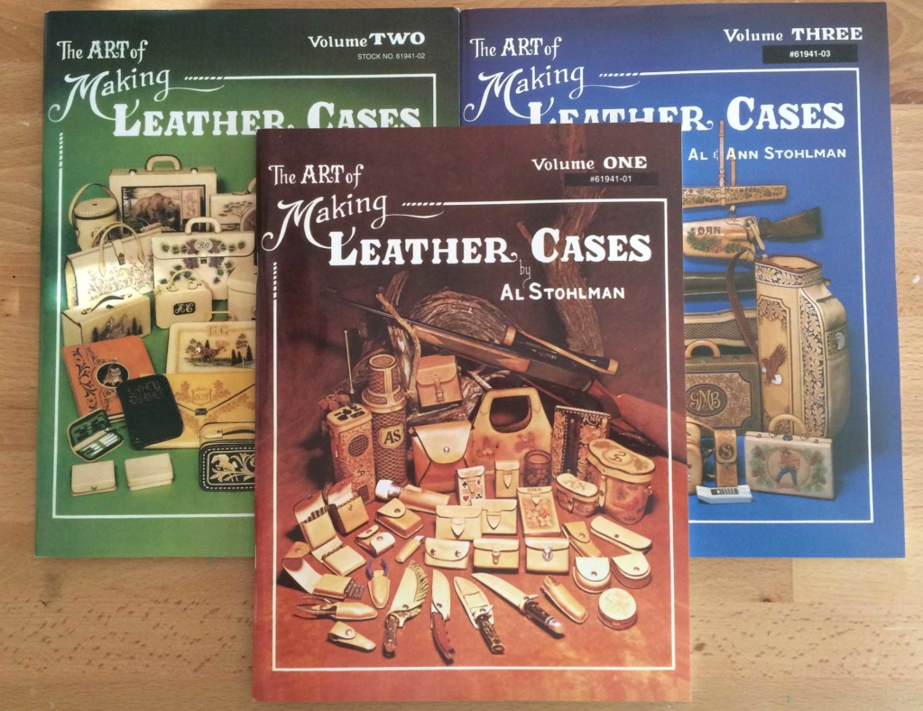 livres sur le cuir  Making10