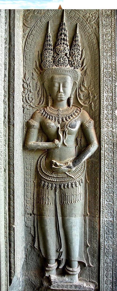 Il mistero delle donne sacre Khmer  1110