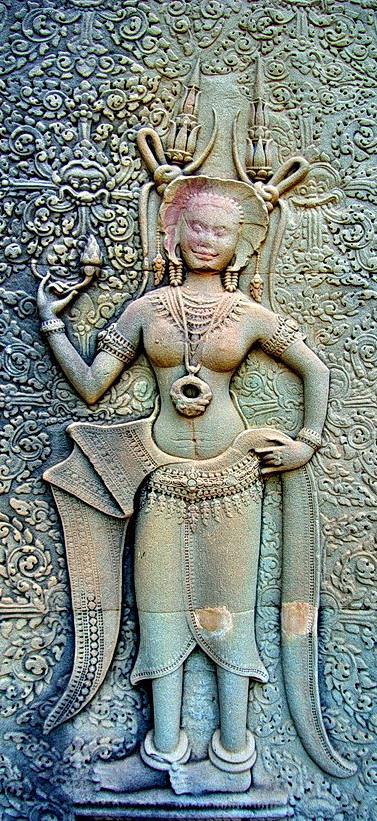 Il mistero delle donne sacre Khmer  1310