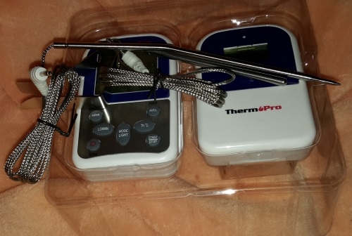ThermoPro TP12 Funk-Grillthermometer Set Ausgep24