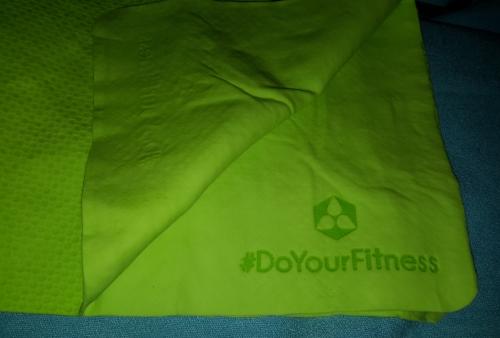 #DoYourFitness - Fitnesshandtuch »CoolDown« Glatte10