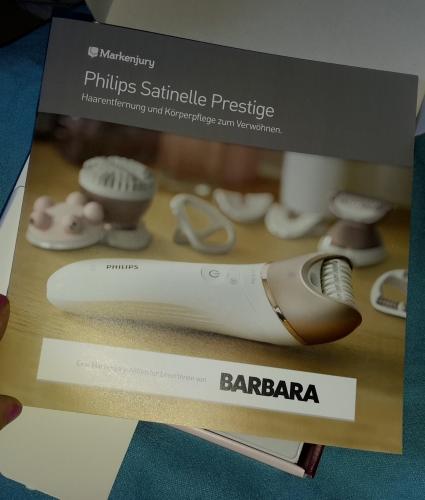Philips Satinelle Prestige - Epilierer und Körperpflege zur Verwöhnung Handbu10