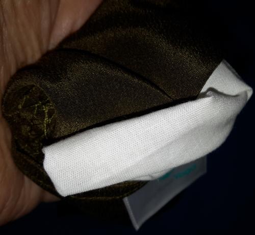 #DoYourYoga - Seiden-Augenkissen »Balu« mit Leinsamen / Lavendel Füllung Innenk10