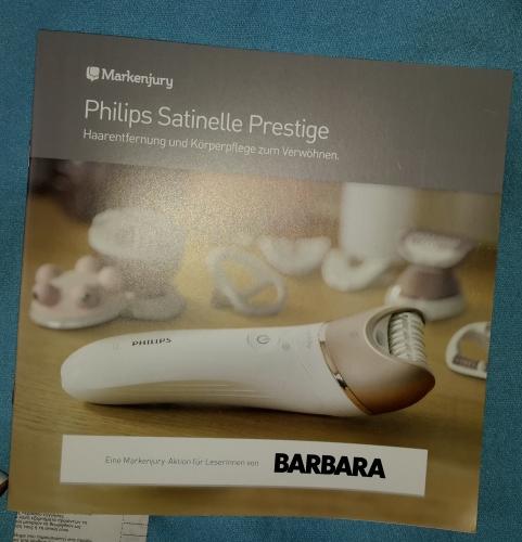 Philips Satinelle Prestige - Epilierer und Körperpflege zur Verwöhnung Kampag10