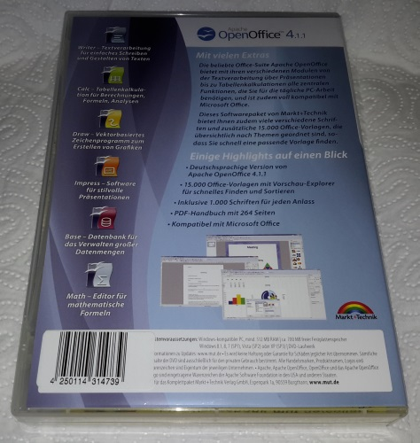Open Office Spezial-Edition für Windows 10-8-7-Vista-XP Ryckse63