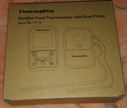 ThermoPro TP12 Funk-Grillthermometer Set Verpac72