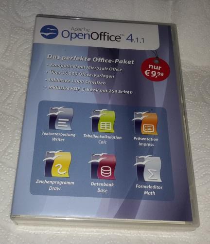 Open Office Spezial-Edition für Windows 10-8-7-Vista-XP Vorder27