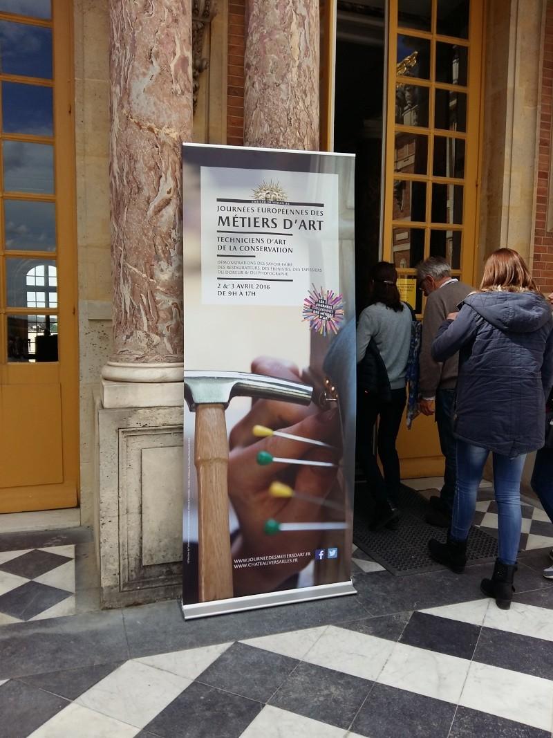 Journées européennes des métiers d'art Versailles avril 2016 20160417