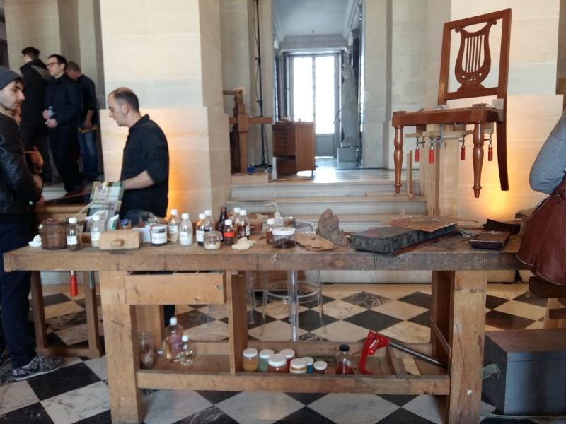 Journées européennes des métiers d'art Versailles avril 2016 20160436