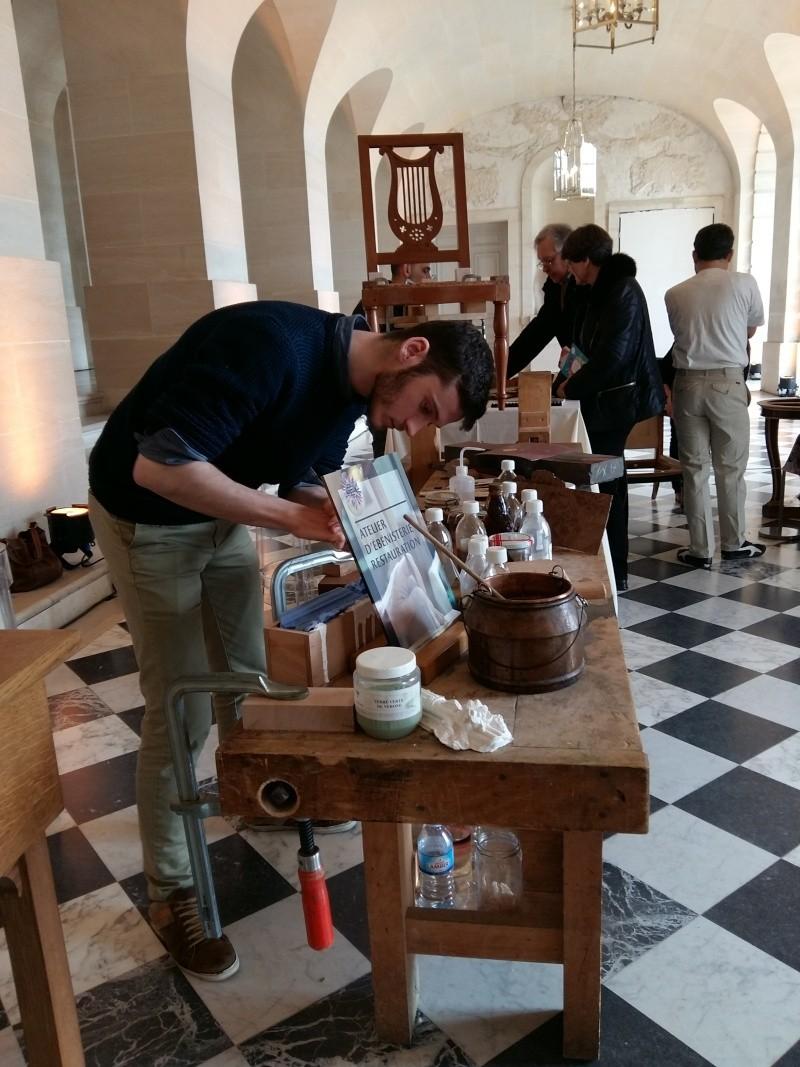 Journées européennes des métiers d'art Versailles avril 2016 20160437