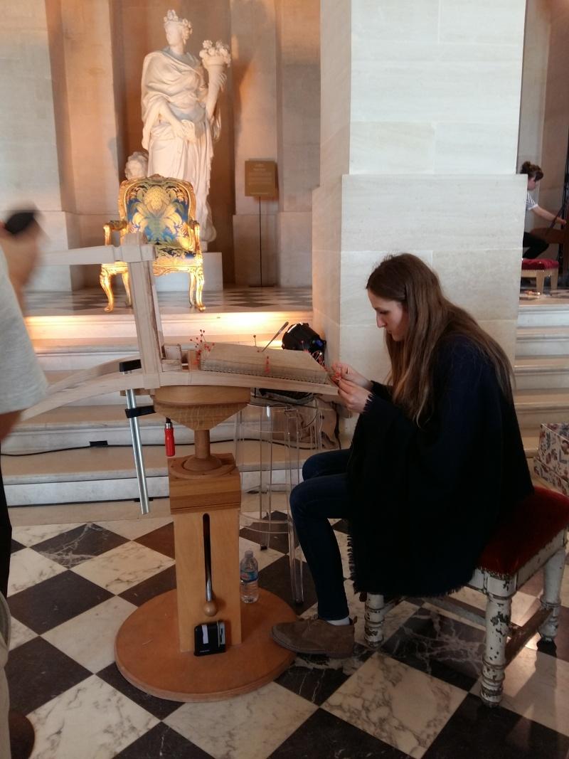 Journées européennes des métiers d'art Versailles avril 2016 20160462