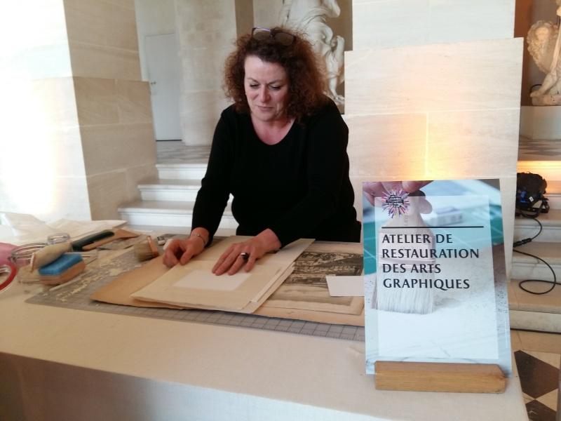 Journées européennes des métiers d'art Versailles avril 2016 20160469