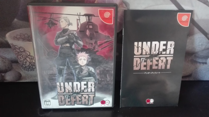 [VDS] Under defeat dreamcast JAP + lot de jeux Under110