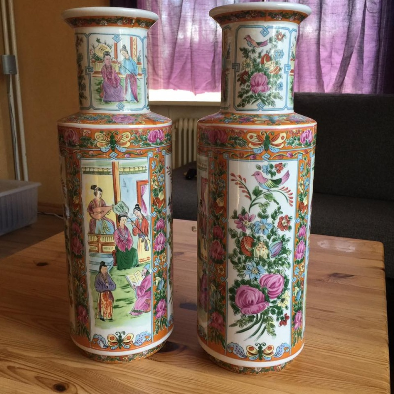 Two pair of vases - Looks chinese,japanese? 13332910