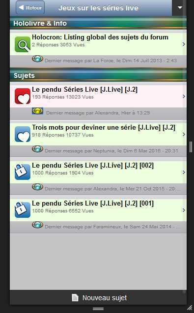 Le forum en version mobile Lastpo10