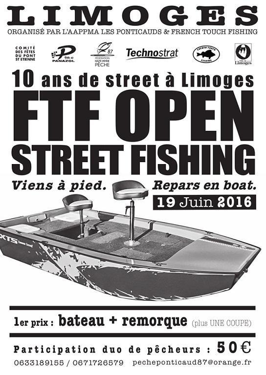 Open Street Fishing 2016 à Limoges Street10