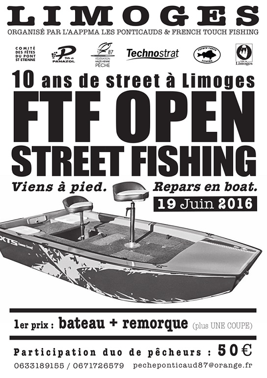 Open Street Fishing 2016 à Limoges Street11