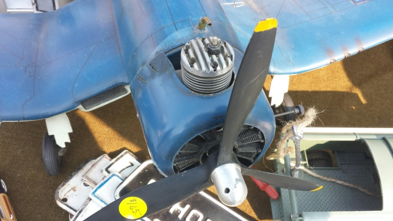 Nicely built Corsair C/L with a mystery engine Cosair11