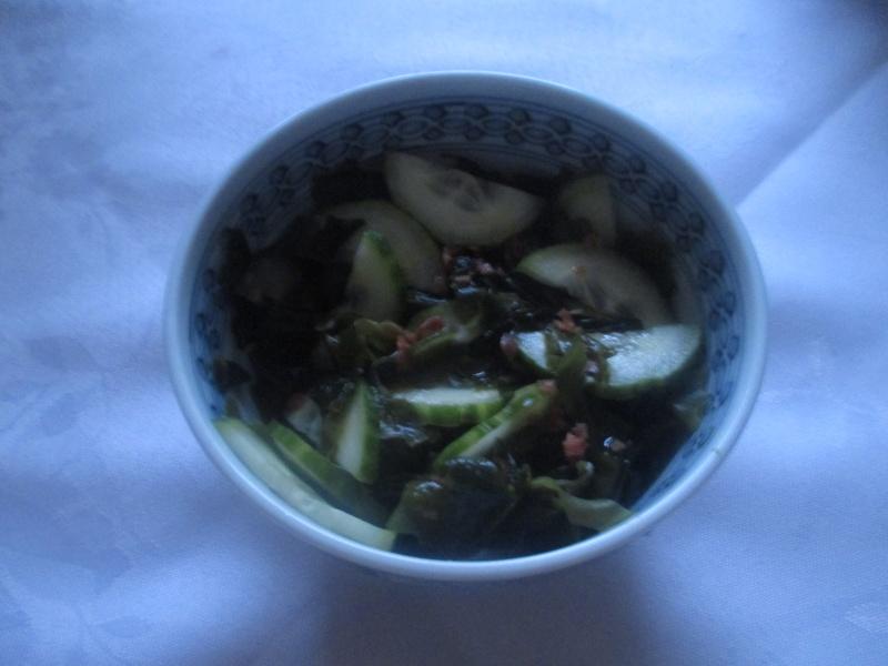 Salade d'algues & de concombre  Salade12