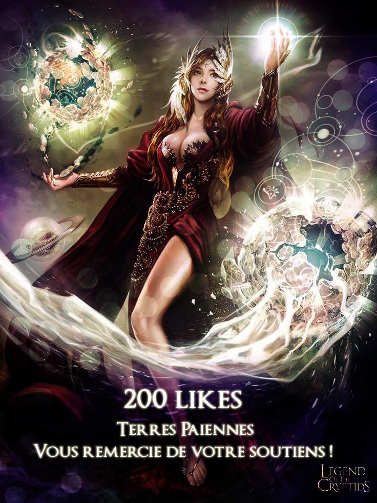 Plus de 200 likes sur notre page ! :D 200_li10