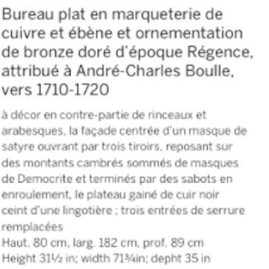 La restauration d'un bureau d'A-C Boulle au Louvre-Lens Captur16