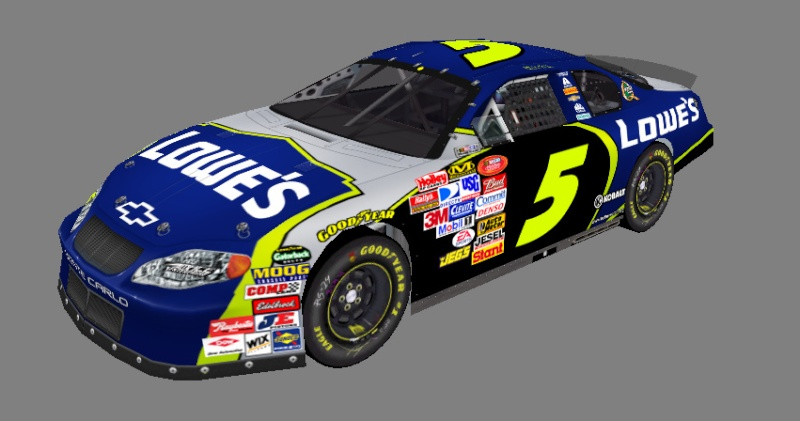2016 Hardee's National Series Cars Hns_5_10
