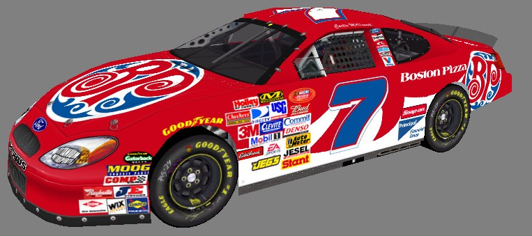 2016 Hardee's National Series Cars Hns_7_10