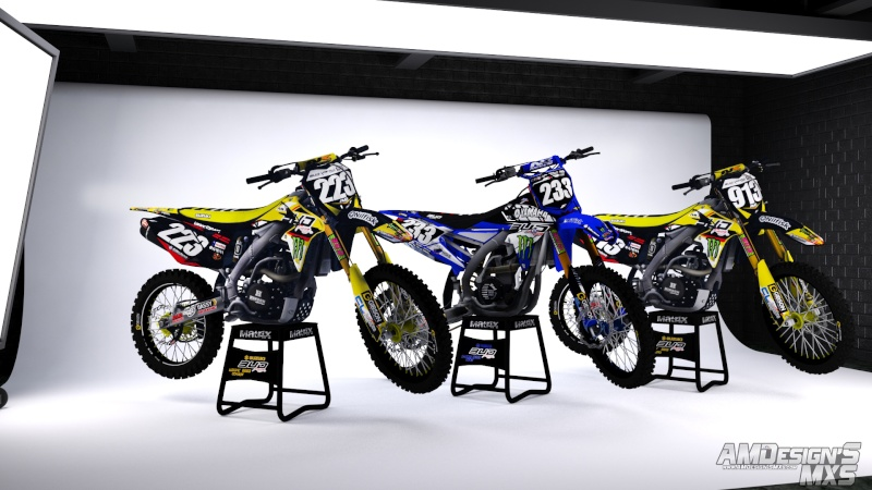 Team BUD RACING 2016 Render10