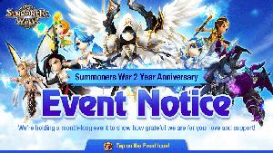 Célébration des 2 ans de Summoners War ! Annive13