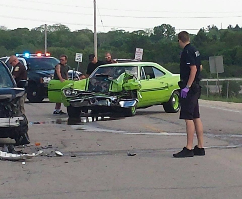 muscle car crash  Gtx10