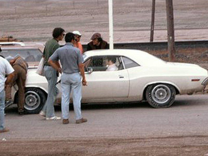 ''car star'' derriere la camera Newman10