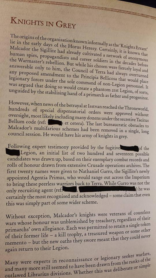 [Horus Heresy] Garro: Vow of Faith de James Swallow 12919110