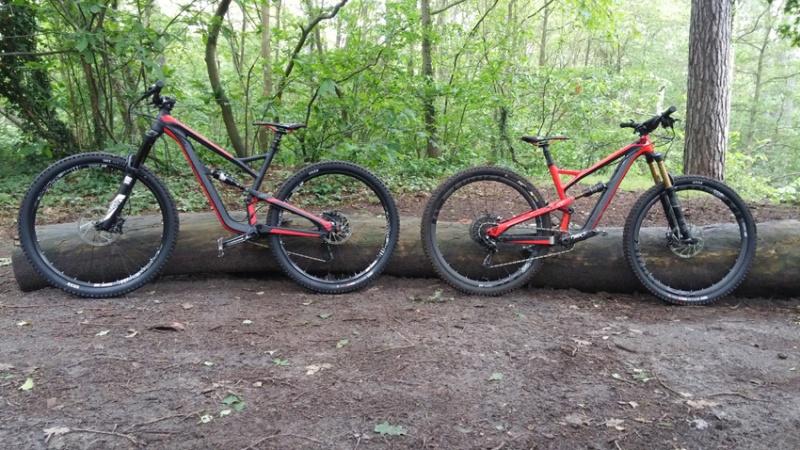 Test du Jeffsy AL COMP1 - Premières impressions Bikes10