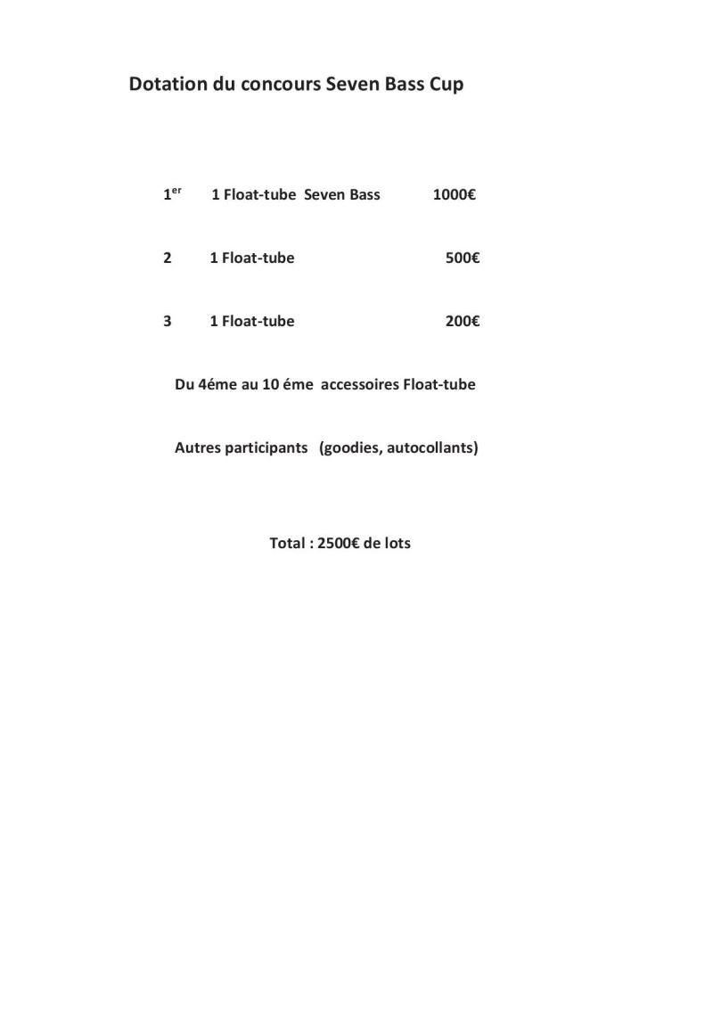 Concours float tube Seven Bass Cup - Parentis en Born Seven-10