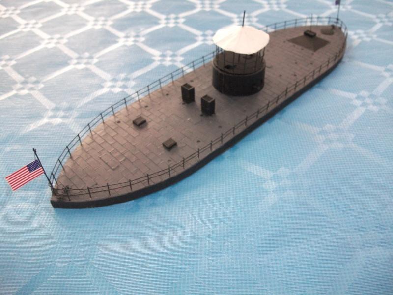 Ironclad USS MONITOR   1/200 Résine Verlinden Dscf1711