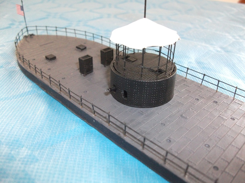 Ironclad USS MONITOR   1/200 Résine Verlinden Dscf1714