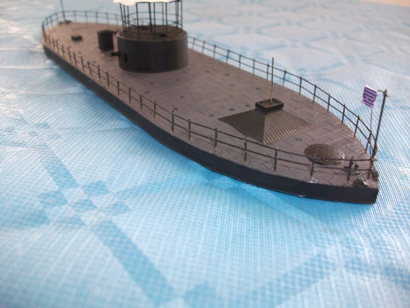 Ironclad USS MONITOR   1/200 Résine Verlinden Dscf1715