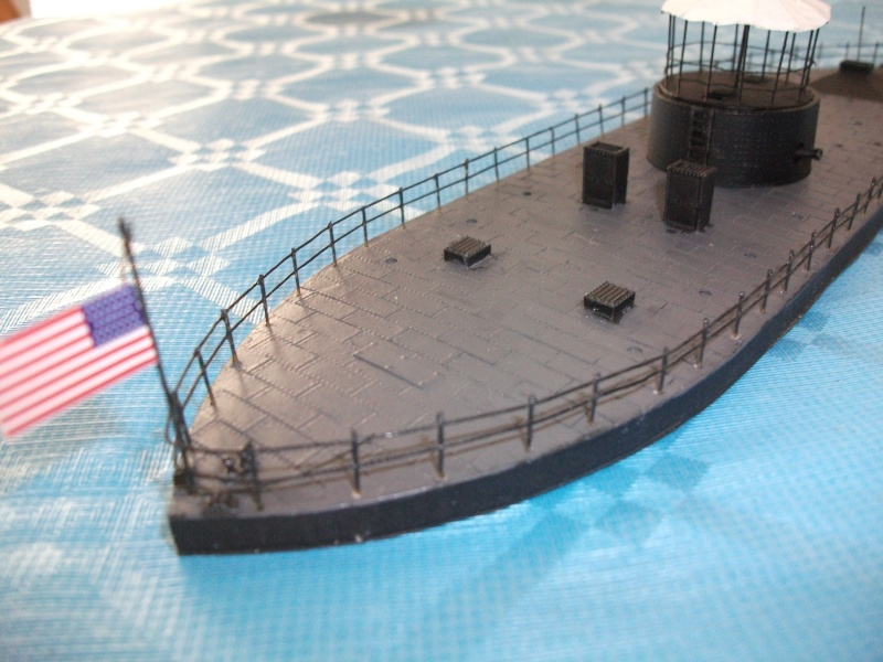 Ironclad USS MONITOR   1/200 Résine Verlinden Dscf1716