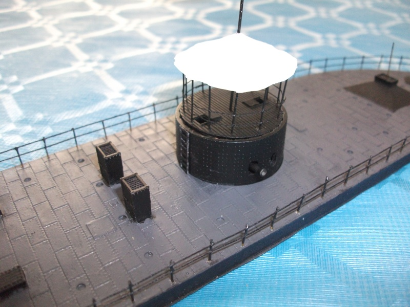 Ironclad USS MONITOR   1/200 Résine Verlinden Dscf1717